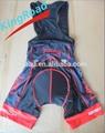 2014 venda quente ciclismo curta, ciclismo shorts, jardineiras, calças de ciclismo com 3d padding