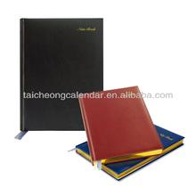 Imitative Leather A4 Notebook with Gilt-edge