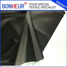Polyester taffeta fabric with white PU coating for sports jackets