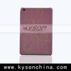 2014 new design genuine leather for ipad mini 2 cover