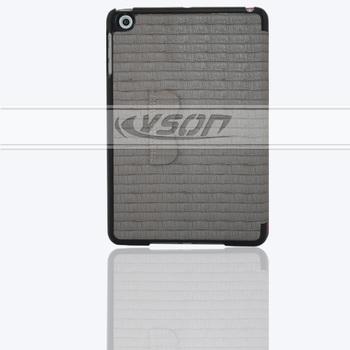 with sleep & wake case for apple ipad mini retina,slim magnetic leather smart cover case
