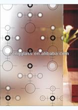 4.8 mmcolorful/tinted blocos de vidro para paisagens de cristal bloco de vidro