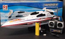 """28"""" blauen streifen marine hohe Leistung rc elektrische ep racing speedboot"""