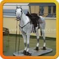 Juguete Animal realista caballo de tamaño natural de cuero de caballo
