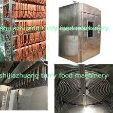 500kg/time Multi-function automatic meat/fish smoking house