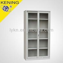 good quality sliding glass door metal steel floor filing cabinet