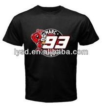 Marc Marquez 93 Motogp Black T-Shirt ,Pick Size and Color, high quality custom logo short Sleeves 100% cotton