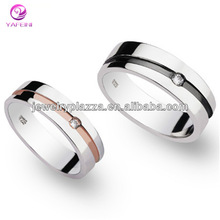JJ000165 Happiness Origin Zircon Best Selling Lovers Rings
