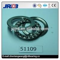 High Precision Thrust ball bearing 51109 steel