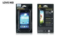 LOVE MEI Metal Aluminum Shockproof Dirtproof Waterproof Gorilla Glass Case Love Mei Defender Waterproof Case For Galaxy S4