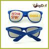 Fun Party Custom Logo Lens Nenon Color Pinhole Sunglasses Wayfarer Wholesale UV400 Protection