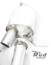 Exhaust System for Skoda Octavia RS 2,0TFSI, Octavia A5 FL 1.8TSI + additional sport muffler