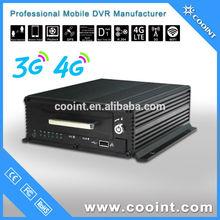 8 channels HDD SD card storage WIFI 802.11 b/g/n 3G 4G bus mobile DVR