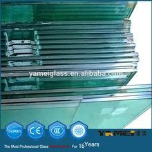 2014 nuevo diseño! De alta calidad opaco laminado de vidrio templado