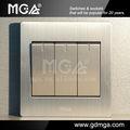 mga novo design interruptor de luz elétrica