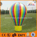 Insignia se puede imprimir de colores flotante inflable publicidad del globo