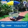 CE hot food cart IS09001hd-80B hot dog food cart /hot dog cart for sale /hot dog cart
