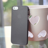 Clear 0.3mm Ultra Thin Matte Back Hard Plastic Case Cover Skin For iPhone 5 5G