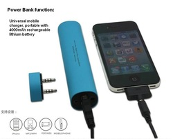 Best new year gift mini design speaker power bank SUIT FOR SMARTPHONES/ MP3/MP4 /PSP/NDS