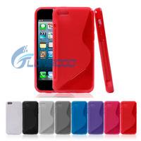 TPU Matte Slim Silicone Soft Case Cover FOR iPhone 5C
