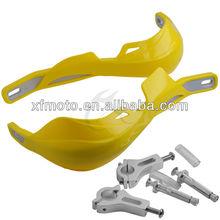 "Yellow color Universal 7/8"" Hand Brush Guards For Honda Suzuki Kawasaki Yamaha motorcycle wholesale"
