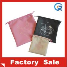 Hot sale! Non woven drawstring shopping bag/non woven promotional reusable drawstring bag