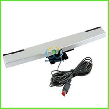 Assecure black wired infrared ray LED motion sensor bar for Nintendo Wii U