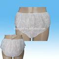 Cuecas e calcinhas sexy impressão desi novo descartável não tecida senhoras g- string calcinhas de senhoras breve breve emenda