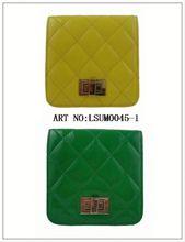 2014 newly trend fashion tote handbag cosmetic handbag grey suede handbag