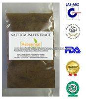 Natural Safed musli Saponins 20%, Saponins 30%, Saponins 40% Extract from India