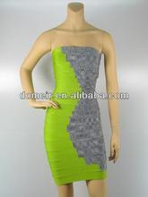 2014 formal overalls dress charming dress no sleeve H153