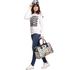 fashionable hand drawing canvas tote bags wholesale TH1204