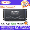 CE Certificated PWM Solar Charge Controller 30amp 12v/24v for Solar Panel
