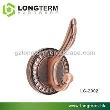 2014 luxury antique copper vintage wall hooks