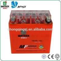12 Volt Gel 9ah Motorcycle Battery For 250cc Racing Motorcycle