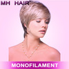 monofilament top wigs coloured wigs synthetic two tone lace wig