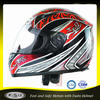 cheap red black adult men's full face motorcycle helmet 603