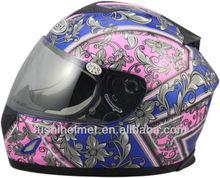 Ladies party decoration motorcycle helmet 606