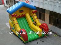 Top quality colorful printed kids inflatable slides,kids indoor slides,large kids slides
