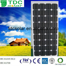 stock cheap price 100w Monocrystalline Solar Panel,pv module