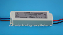 High quality led driver 220v ac / 110v ac input, 12v dc / 24v dc output