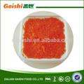 2014 nueva cosecha de naranja congelados sazonados masago huevos
