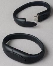 USB stick New Black Wristband USB2.0 usb stick ,free download clips free USB2.0 usb stick