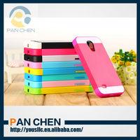 Multi Tone Bumper Hybrid Soft TPU PC Skin Mobile Phone Case Cover For Samsung i9192 i9190 Galaxy S4 mini