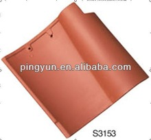 clay spanish ceramic roof tile