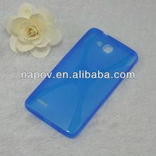 Designer Handbags Original X line Pattern Mobile Phone for Huawei G750-U00 back cover