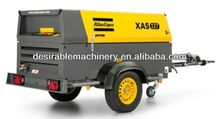 Atlas Copco Model XAS97Dd tire type air compressor made in China