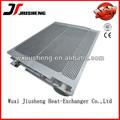 jiusheng marca de alto rendimiento nuevo 2014 suelde de aluminio de la placa de aluminio de la aleta del radiador aplicada para excavadora daewoo
