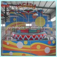 Theme park amusement rides turnable games of rides tagada