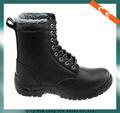 2014 suave acción de cuero zapatos de seguridad superior acristalada de cuero, el pasado europeo, hombres botas de trabajo/zapatos de seguridad/botas de seguridad de trabajo